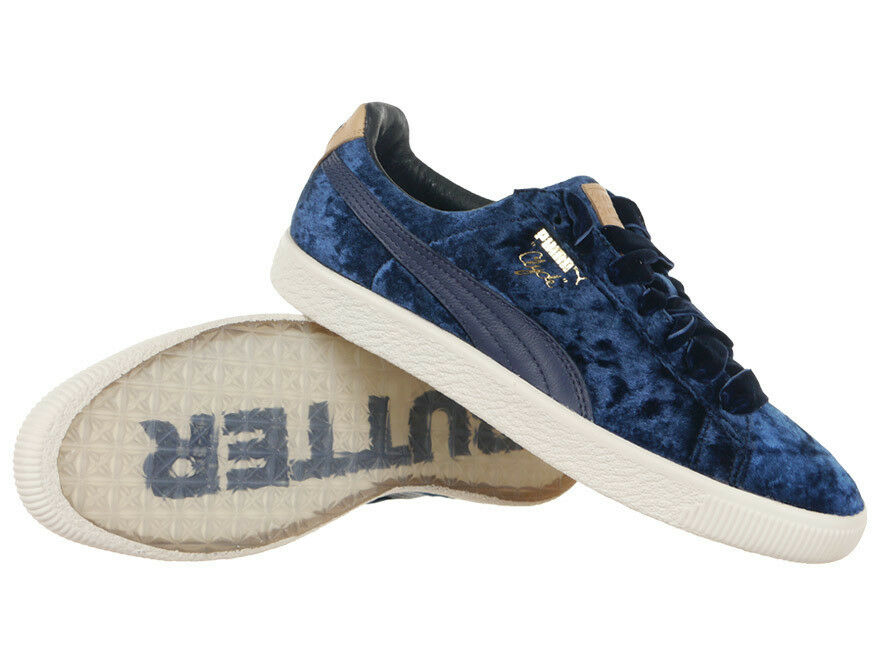 Puma Clyde X Extra translúcido mantequilla unisex tenis Zapatos  de suela translúcido Extra 635ed6