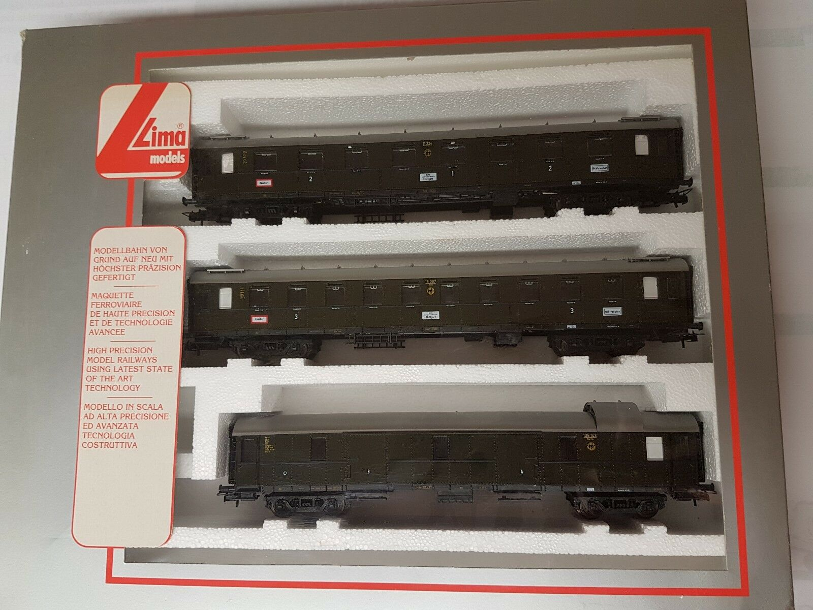 Lima 149762 K h0 3 piezas wagonset top embalaje original