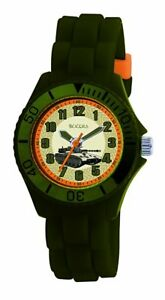 Tikkers-TK0027-Boys-Green-Rubber-Silicone-Strap-Army-Tank-design-Watch
