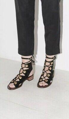 Gladiator Heeled Sandal Size UK 38