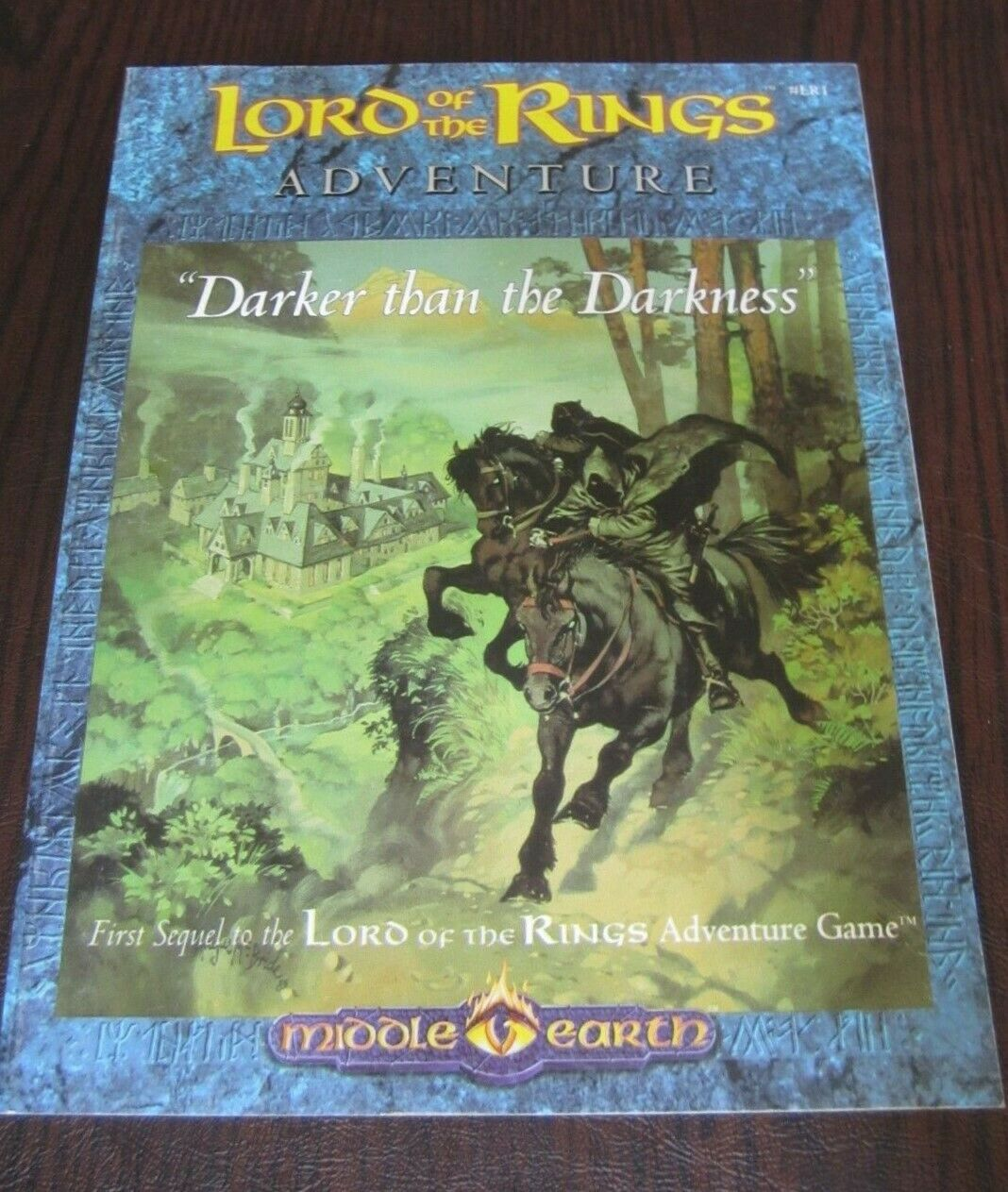 MERP Lord of the Rings Darker than the Darkness Darkness Darkness Adventure Game Middle-earth VF a972d9