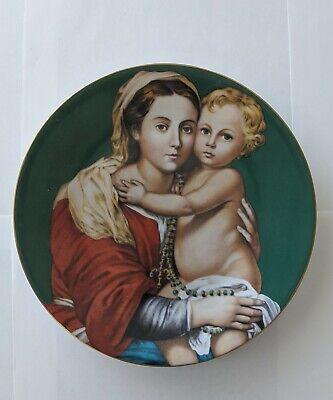 Vintage 1979 Madonna Child Plate By Murillo Haviland Limoges France Porcelain Ebay