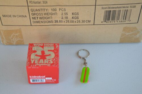 25th anniversaire Keychains-Skateboard 100 Pack The Simpsons