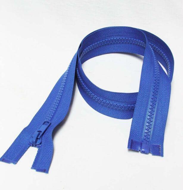 "26"" / 65cm, #5 , Plastic Teeth Zipper Separating Zip, Royal Blue"