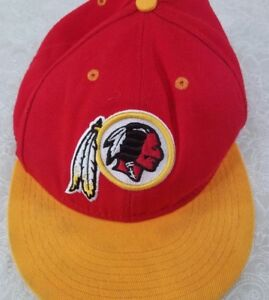 1b1322cee Image is loading Mitchell-amp-Ness-NFL-Vintage-Washington-Redskins -adjustable-