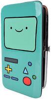 Adventure Time Beemo Snap Wallet Bifold Teal on sale
