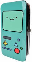Adventure Time Beemo Snap Wallet Bifold Teal on sale