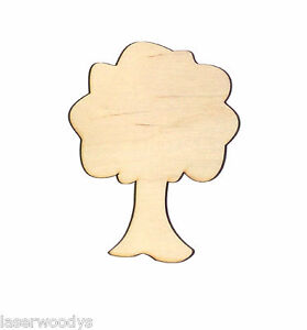 Details About Apple Tree Unfinished Wood Shape Cut Out At5218 Laser Crafts Lindahl Woodcrafts