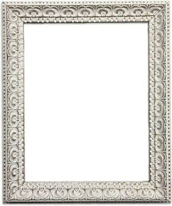 vintage distressed shabby chic cream ornate photo picture poster rh ebay co uk shabby chic photo frames ebay shabby chic photo frames australia