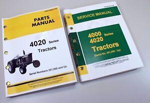 service manual set for john deere 4020 4000 tractor technical shop John Deere 4020 Clutch Diagram image is loading service manual set for john deere 4020 4000