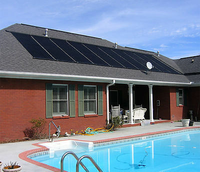 "28""x20' Solar Energy Swimming Pool spas Sun Heater Panel Inground Above Ground"