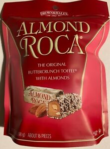 NEW-BROWN-amp-HALEY-ALMOND-ROCA-BUTTERCRUNCH-TOFFEE-WITH-ALMONDS-7-OZ-CAN-BAG-BUY