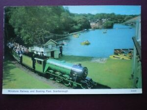 POSTCARD YORKSHIRE SCARBOROUGH  MINIATURE RAILWAY amp BOATING POOL - <span itemprop='availableAtOrFrom'>Tadley, United Kingdom</span> - Full Refund less postage if not 100% satified Most purchases from business sellers are protected by the Consumer Contract Regulations 2013 which give you the right to cancel the purchase w - <span itemprop='availableAtOrFrom'>Tadley, United Kingdom</span>
