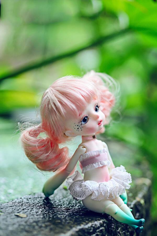1 8 muñeca de BJD SD muñeca Dz Lindo Pet 妞妞-Gratis Cara Maquillaje Ojos + Gratis