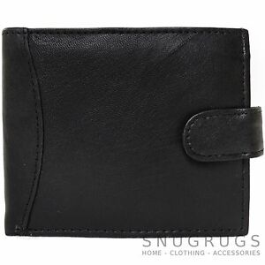 Mens-100-Soft-Genuine-Leather-Wallet-Money-Holder-with-Multiple-Features