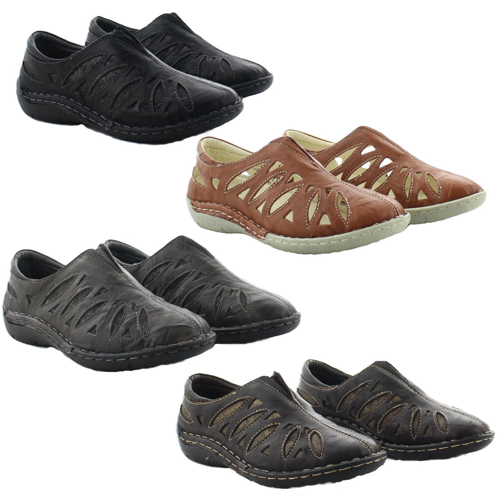 Zapatos De Vestir Propet WCX014L Mujer Cuero Cameo Cameo Cameo Informal Mocasín Plano Sin Cordones  marca