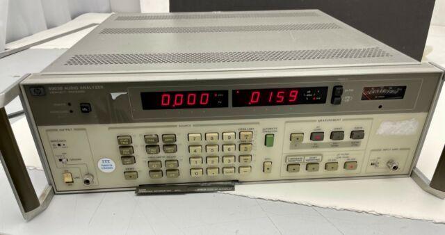 Hp 8903b Audio Analyzer For Sale Online Ebay