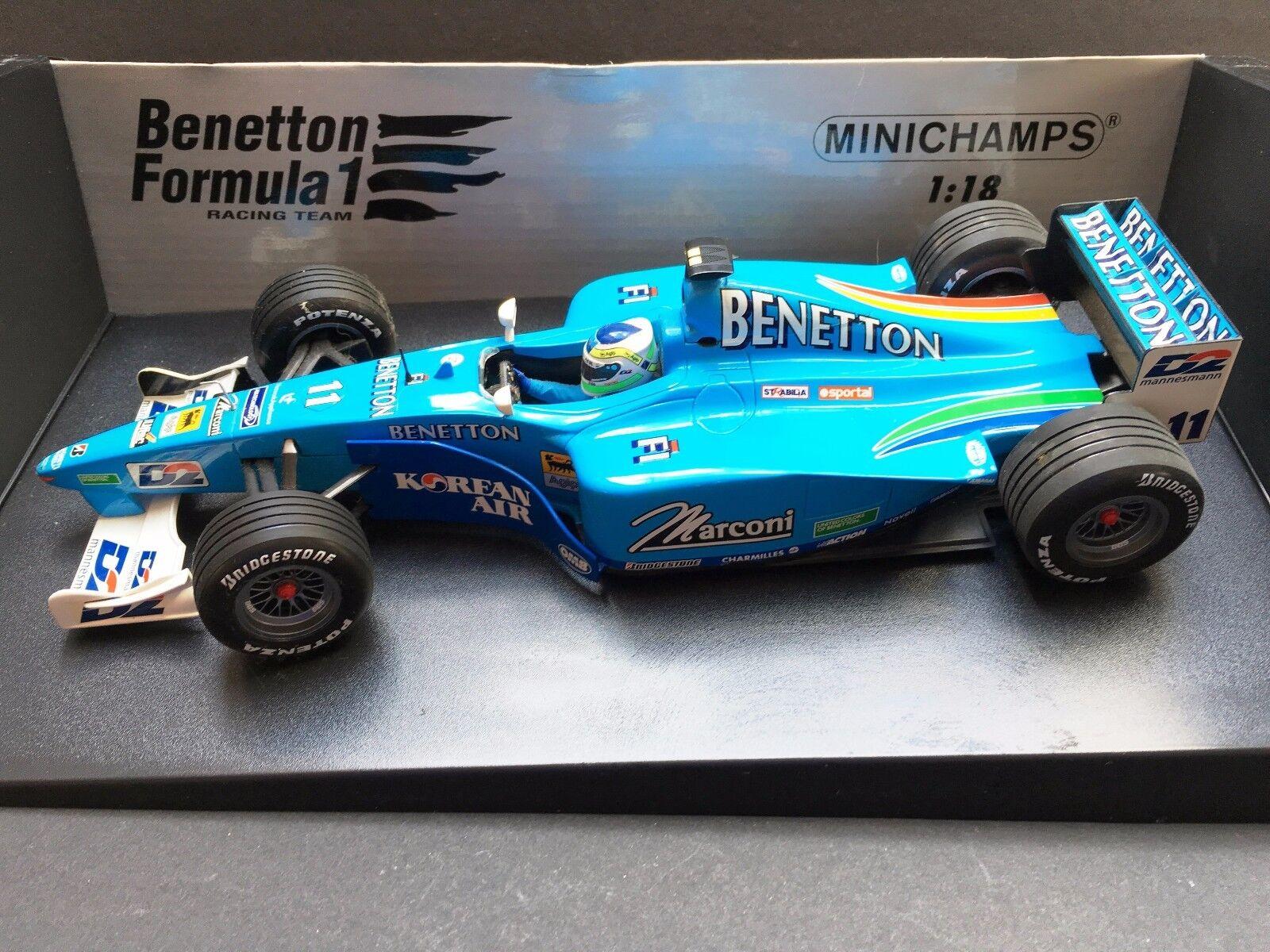 Minichamps - Giancarlo Fisichella - Benetton - B200 -  2000 - 1 18