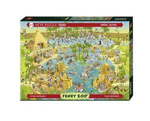 Heye Puzzles - 1000 Piece - Nile Habitat, Degono HY29693 - JIGSAW PUZZLE