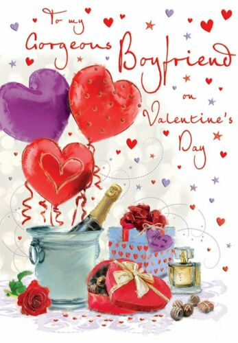 Cute Happy Valentine/'s Day Cards for Boyfriend Happy Valentines Day Quality