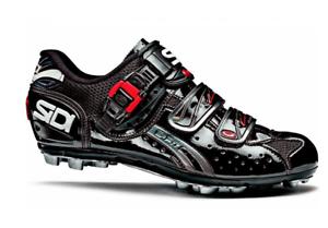 Sidi Dominator Ajuste Para Mujer Zapatos 37.5 Negro Bicicleta De Montaña 6 US  venta al por menor