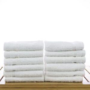 Washcloths Wash Cloth Towels By Royal 24 Pack 100 Natural Cotton 12 X