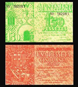 SPAIN-CIVIL-WAR-1937-BARCELONA-1-5p-MUNICIPAL-GUERRA-CIVIL-ESPANOLA