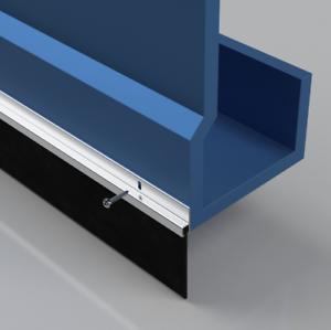 Garage Door Rubber Seal >> Details About Stormguard Garage Door Rubber Seal Heavy Duty 50mm Weather Draught Excluder