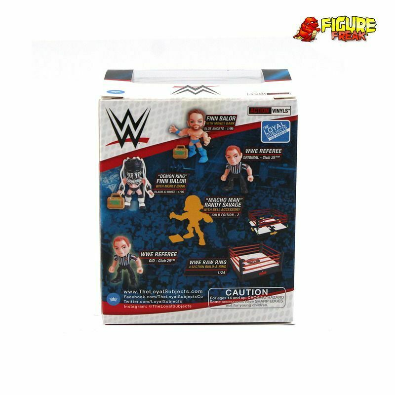 Loyal Subjects WWE Wrestling Wave 3 John Cena Red Vinyl Figure
