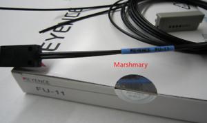 1pc New Keyence FU-11 Fiber Optic Sensor FU11