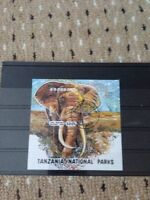 TANZANIA 1993 SG MS 1696 National Parks Elephant Lake Manyara