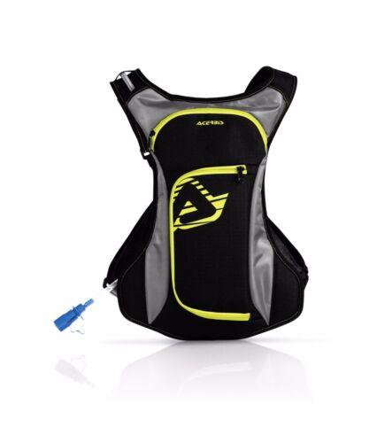 0017071 ACERBIS ZAINETTO CAMEL BACK ACQUA DRINK BAG NERO//GIALLO