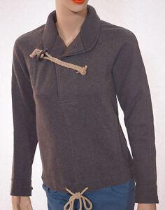 Xs cotone in grigio Lauren Label Blue lana Womens maniche a Ralph corte Maglione di Bx1HHY
