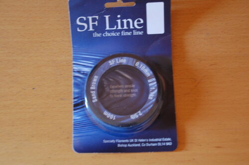 SF ligne 100 M Sable Brun 0.10 mm 1.1 kg 2.5 LB environ 1.13 kg