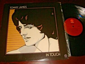 Tommy-James-IN-TOUCH-12-inch-vinyl-LP-record-33-rpm-Made-in-USA