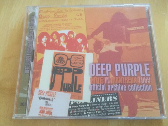 Deep Purple - Live in Montreux 1969 (2xCD)