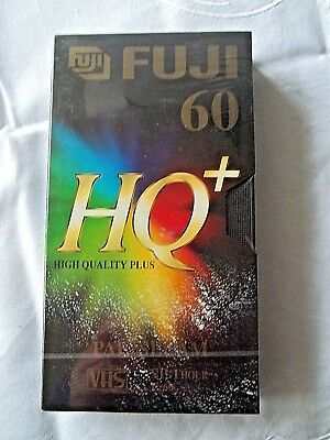 1 X Vhs Fuji Hq 60 1 Hour Videocassette Neu In Ovp Folie Exquisite Traditional Embroidery Art