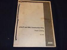 Case 570lxt 580l Loader Backhoe Parts Catalog Book Manual