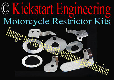 Yamaha WR 450 carb Restrictor Kit 35kW 46 46.6 46.9 47 bhp DVSA RSA Approved