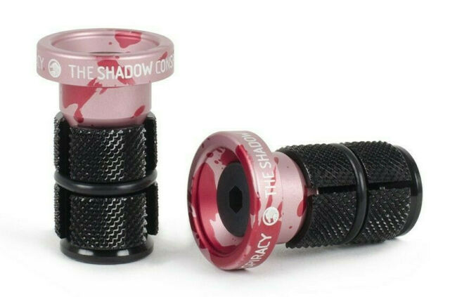 SUBROSA BITCHIN ALLOY BAR ENDS BMX BIKE SUNDAY SE SHADOW CULT HARO GT RED NEW