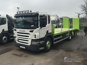 Pour-Pre-2009-Scania-P-G-R-Serie-Jour-Bas-Cab-Acier-Toit-Leger-Barre-Slim-LED