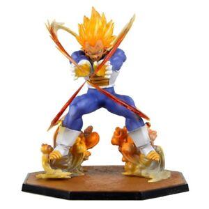 Bandai Dragon Ball Super Vegeta Anime Figure PVC Super Saiyan Action Figurine GT