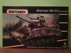 Matchbox 40712 Sherman M4 A1 76mm Cannon 1/35 NEU - <span itemprop='availableAtOrFrom'>Berlin, Deutschland</span> - Matchbox 40712 Sherman M4 A1 76mm Cannon 1/35 NEU - Berlin, Deutschland