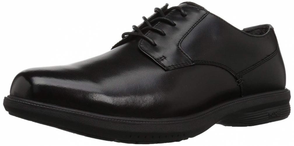 Nunn Bush Men's Messina Plain Toe Oxford KORE Slip-Resistant Dress Casual...