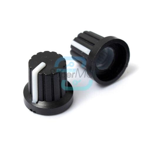 5PCS B1K-1M WH148 3Pin Potentiometer Ohm Linear Rotary Shaft 15//20mm 10K 250K
