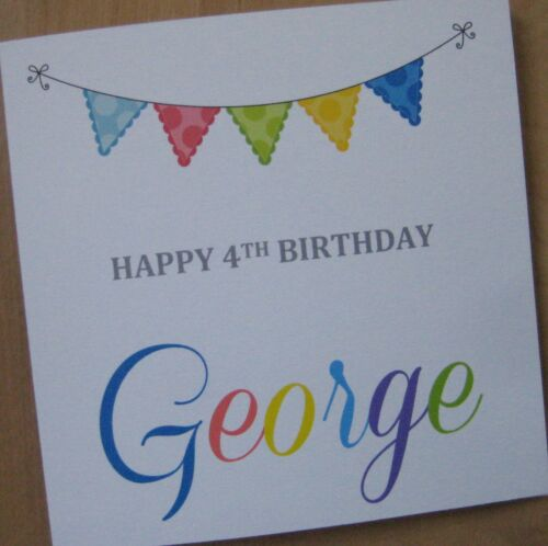 40th//50th//60th//65th//70th//75th//80th {G23M} Personalised Handmade Birthday Card