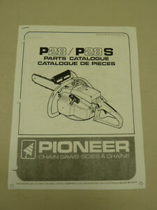 pioneer 01200a chainsaw parts diagram - 225×300