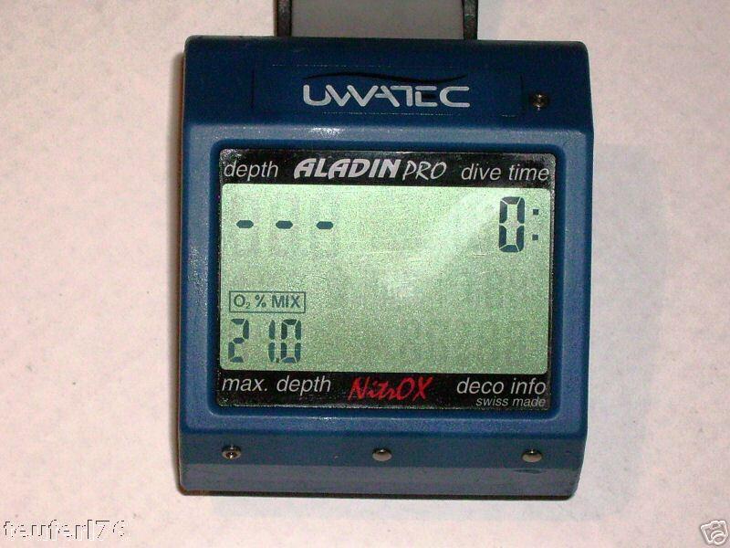 Erneuerung Batterie für Uwatec Aladin Pro Nitrox battery service