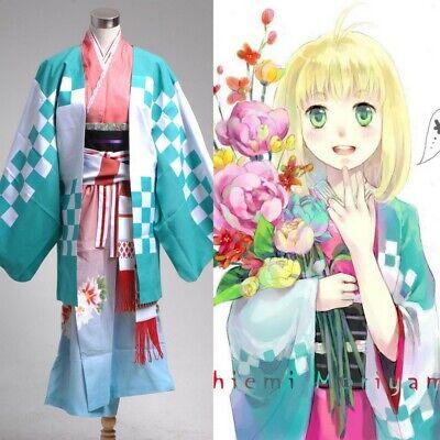 Ao No Blue Exorcist Costume Anime Shiemi Moriyama Kimono Cosplay Halloween Festa Lustro Incantevole