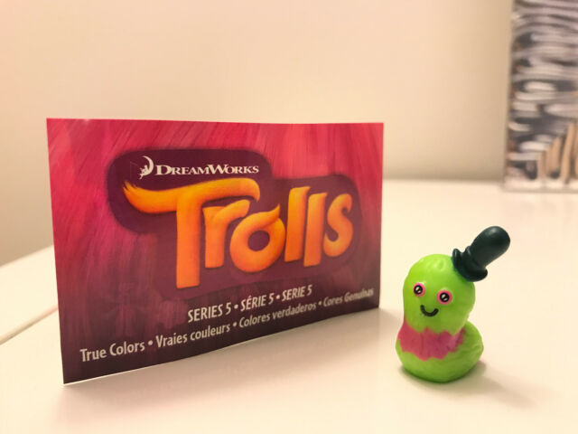 Trolls Mr Dinkles by Dreamworks Series 5 Blind Bag Sealed cute mini figure